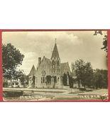 York Nebraska Postcard RPPC M E Church 1919 NE BJs - $24.99