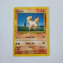 Pokemon Base Set 1999 Ponyta Card HP 60/102 TCG Trading Card Game Unlimited - $0.99