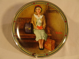 "Norman Rockwell ""A Young Girl's Dream"" Collector Plate  - $39.00"