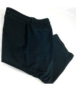 DOCKERS Womens Size 10 Cropped Capri Navy Blue Chino Pants W 34 L 22 - $12.99