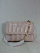 Nuova con Etichetta Tory Burch Fleming Shell Rosa Mini Borchia Trasforma... - $621.71
