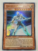 Yu-gi-oh! Trading Card - Galaxy Knight - ZTIN-EN012 - Ultra Rare - 1st Ed. - $4.00