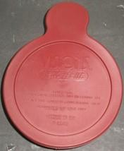 Vtg Pyrex Visions Cranberry Glass HeatnEat V-150-B w/Plastic Lid Corning... - $18.81
