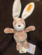 """NWT Steiff 8"""" Hase Rassel BUNNY Plush Baby Toy Bunny Rabbit VHTF - $43.95"""