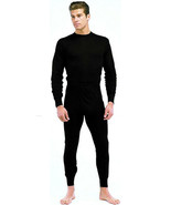 Black Cold Weather Winter Comfort Single Layer Poly Underwear Bottoms - $19.99+