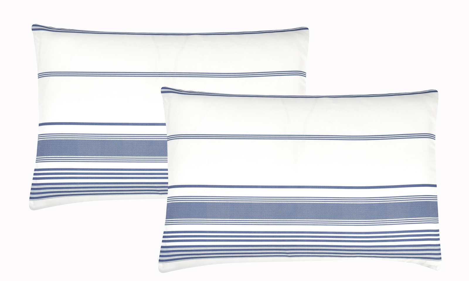 Wonder Home MIKITA 7PC Yarn Dye  Printed Comforter Set, Queen, Blue