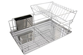 Cuisinart Stainless Steel 2 Tier Dish Drying Rack - $59.07