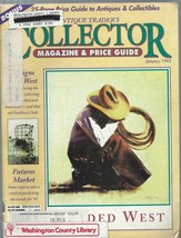 7 Issues ANTIQUE TRADER'S COLLECTOR PRICE GUIDE-JAN-MAY 1995;REFERENCE;P... - $29.99