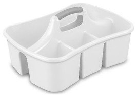 Divided Ultra Caddy, White - $24.29 CAD