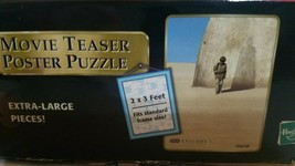 Star Wars Episode 1 Anakin Skywalker Movie Teaser Poster Puzzle 300 Pieces - $9.30