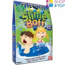Slime Baff Goo Blue Gelli Jelly Bath Magic Powder Kids Children New - $10.98