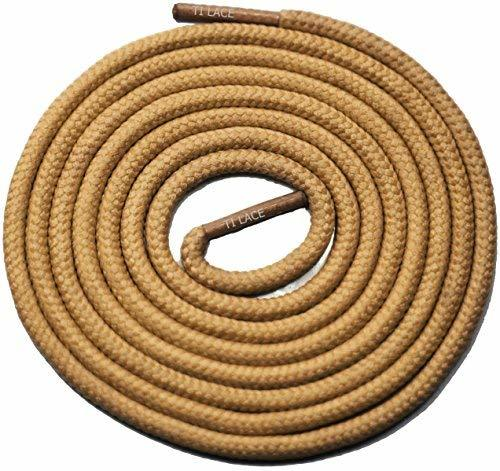 "Primary image for 45"" Tan 3/16 Round Thick Shoelace For All Football Shoes"
