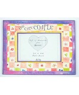 NEW HAVOC ONE CUTE COUPLE PHOTO PICTURE FRAME 3x5  or 4x6 PURPLE - $10.88