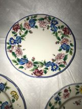 HAZELBURY by Laura Ashley, Small Side Bread and Butter Floral Plates (3) EUC image 5