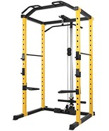 Title: HulkFit 1000-Pound Capacity Multi-Function Adjustable Power Cage ... - $469.53