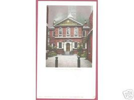 PHILADELPHIA PENNSYLVANIA Carpenters' Hall 1901 UDB - $7.00
