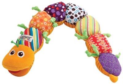 Lamaze Inchworm Plush Caterpillar Developmental Toy Learning Curve Inch Worm
