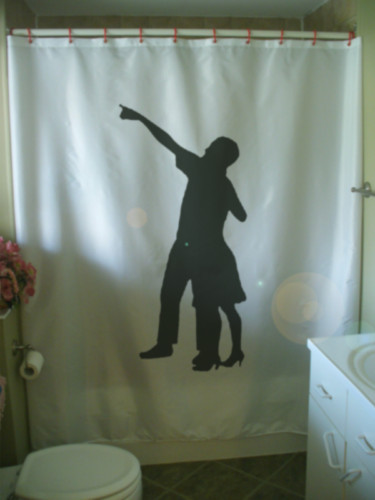 Shower Curtain wish upon a star point sky dream aspire