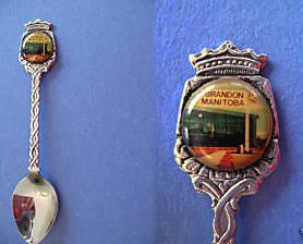 BRANDON Manitoba Souvenir Collector Spoon Collectible CANADA