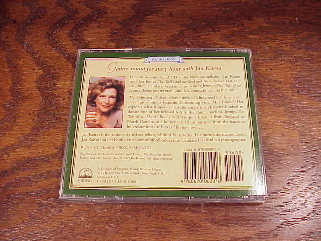 The Jan Karon Story Hour Audiobook, on 2 CDs