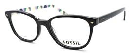 Fossil FOS 6053 MAK Women's Eyeglasses Frames 50-18-140 Black + CASE - $79.00