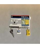 Ceramic Sewing Machine PinViking Designer 1Handcrafted - $14.95
