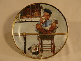 "Norman Rockwell ""The Zoo Keeper"" Collector Plate - $40.00"