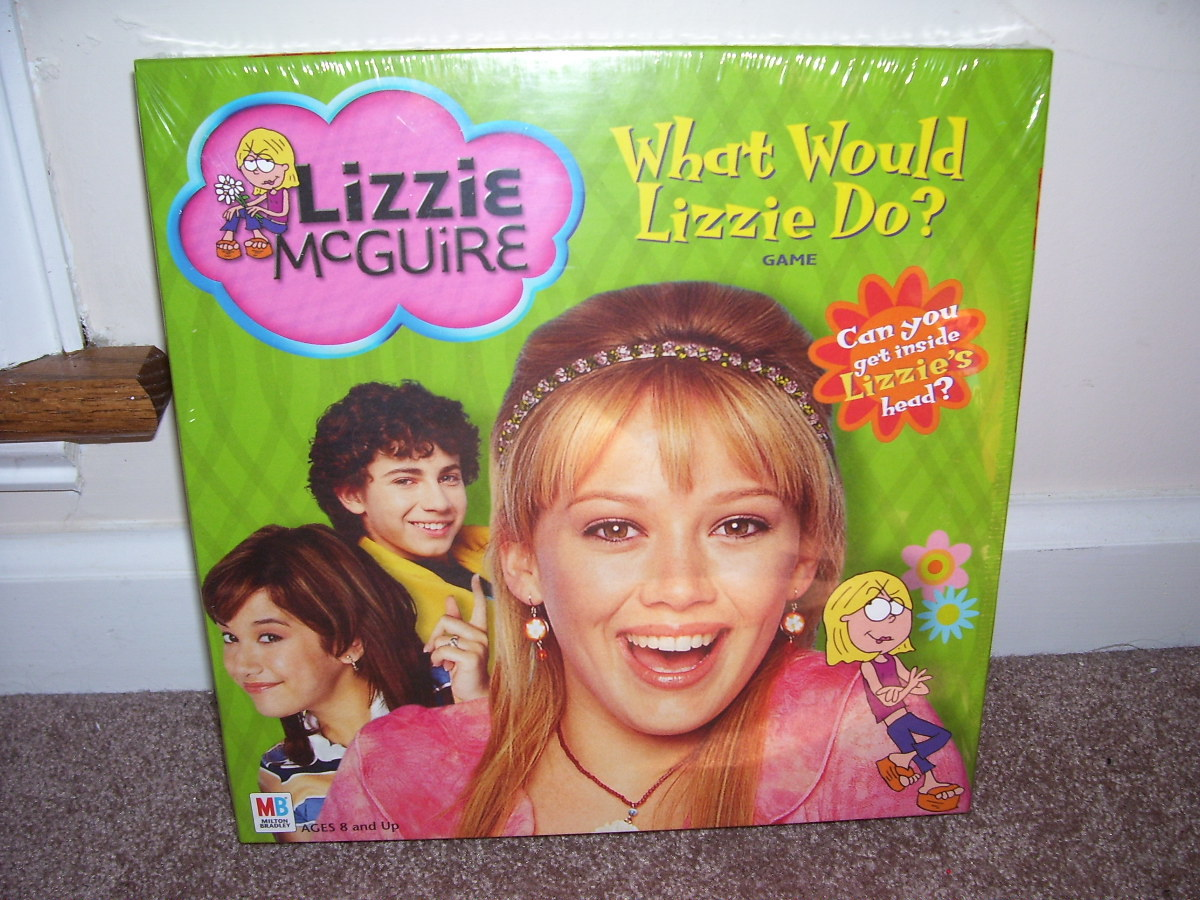 Lizzie mcguire what would lizzie do game