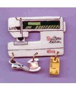 Ceramic Sewig Machine Pin Elna Quilters Edition... - $14.95