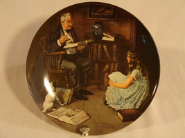 "Norman Rockwell ""The Storyteller"" Collector Plate - $30.00"