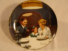 "Norman Rockwell ""The Birthday Wish"" Collector Plate - $30.00"
