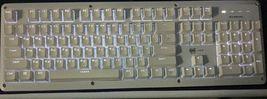 BFriend MK8 Korean English Gaming Keyboard Mechanical Plunger Switch (White) image 5