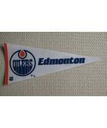 Edmonton Oilers Felt Pennant National Hockey League NHL  - $7.99