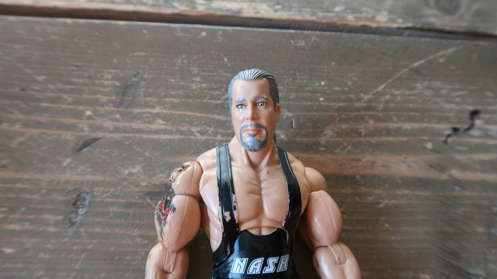 TNA Deluxe IMPACT Big Sexy KEVIN NASH Series 3 Wrestling Figure