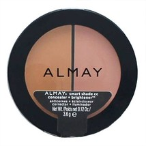 Almay Smart Shade CC Concealer Brightener Light/Medium 200 - $11.99