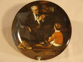 "Norman Rockwell ""The Tycoon"" Collector Plate - $30.00"