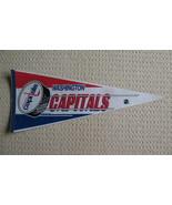 Washington Capitals Felt Pennant National Hockey League NHL  - $9.99