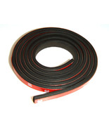 "Auto Car Black Rubber Seal Foam Tape Weather Strip Weatherstrip 1/8"" x 3/8"" - $5.99"