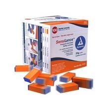 Dynarex SensiLance Safety Lancets Press 26 Gauge (100/Pack) - $13.55