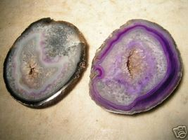 Polished & Carved AGATE Slabs Paperweight drink COASTERS BZ - $34.99