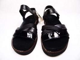 Spring Step Elzira Strap Sandals Black Leather Size 39 (US:8.5) - $58.04
