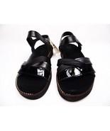 Spring Step Elzira Strap Sandals Black Leather Size 39 (US:8.5) - €51,22 EUR