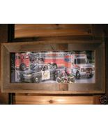 Metal Firefighting Ambulance Police Sign in Barnwood bz - $57.99
