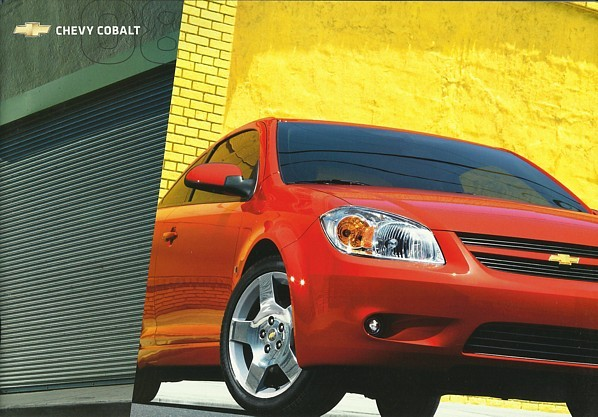 2008 Chevrolet COBALT sales brochure catalog US 08 Chevy LS LT