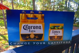 Corona Extra,change your lattitude,imported beer from Mexico,original sign - $61.75