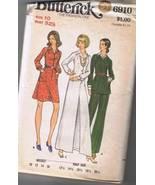 Sewing Pattern BUTTERICK 6910 - Dress, Tunic, P... - $6.00