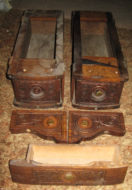 National Sewing Machine Antique Drawers Set Of 3