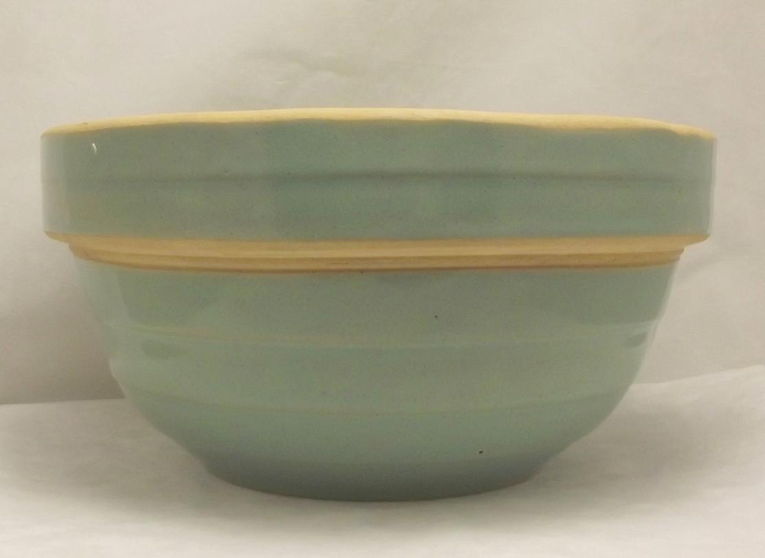Yellow ware bowl 1a