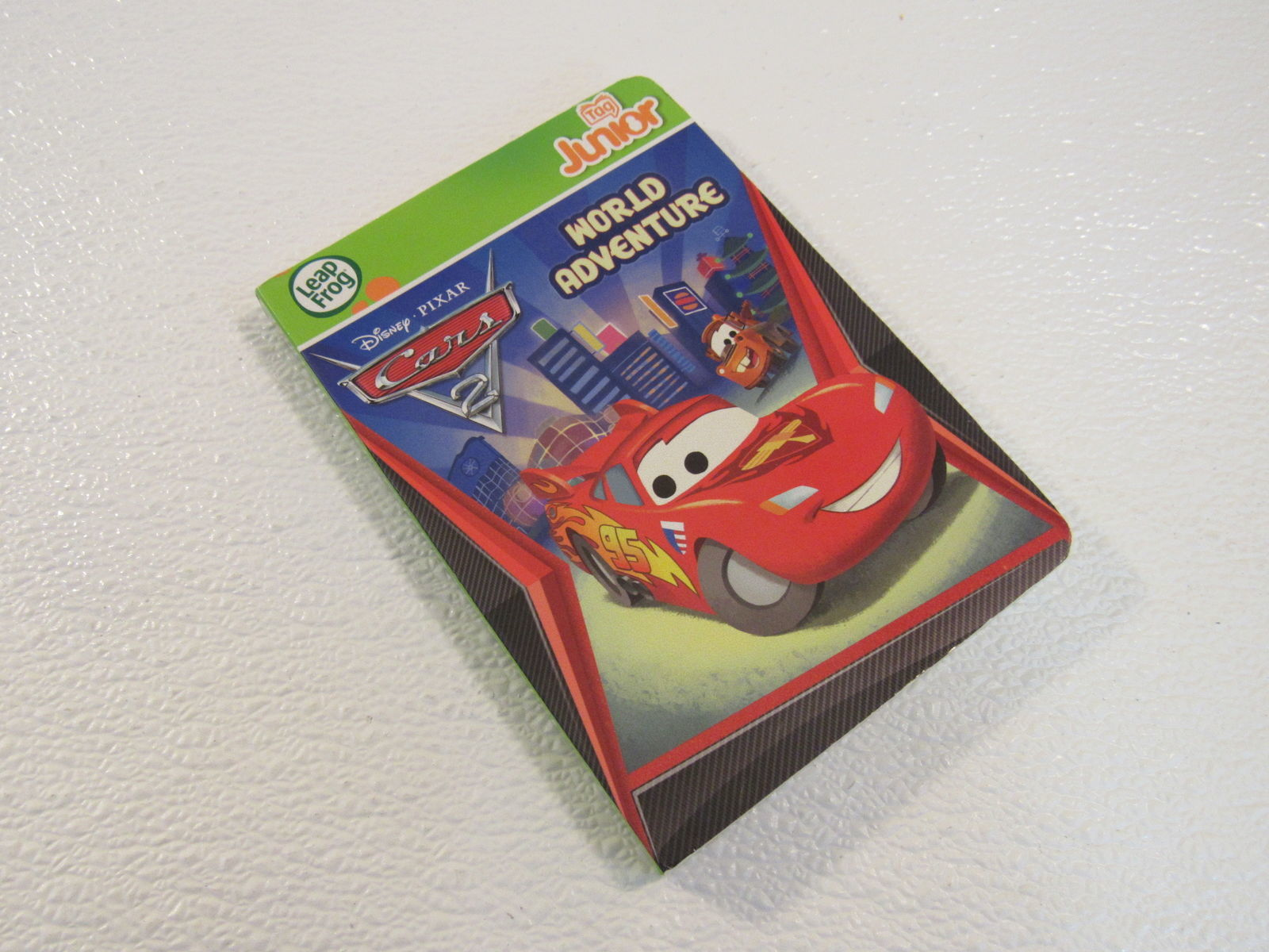 Leap Frog Disney Cars 2 World Adventure Tag Junior Board Book