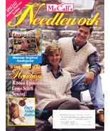 McCALL'S NEEDLEWORK & CRAFTS OCT. 1995 NEEDLEWOVEN BUTTONS - $4.95